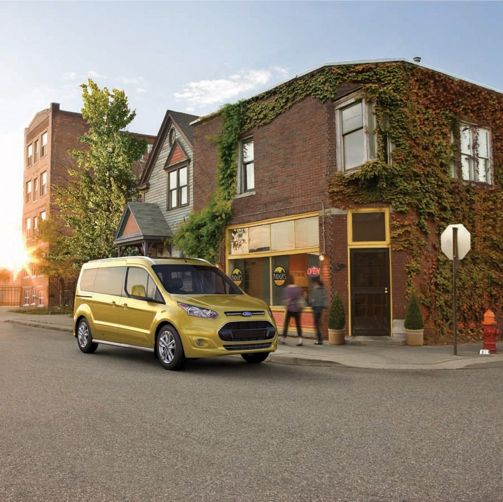 Customers with Limited Mobility Turn to Ford Transit Connect Wagon