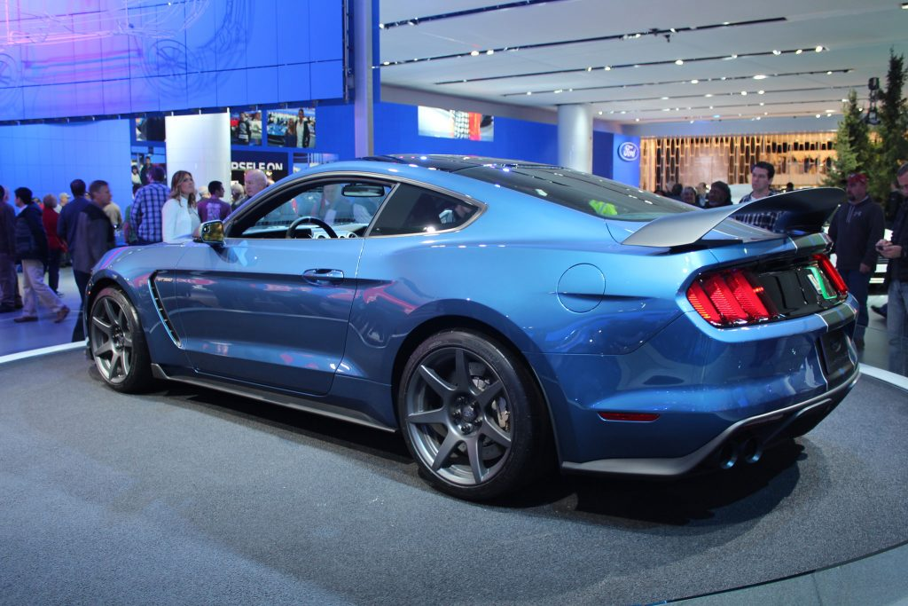 first 2016 Ford Shelby GT350R Mustang