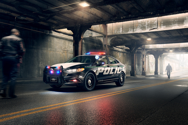 2019 Ford Fusion Hybrid Police Vehicle