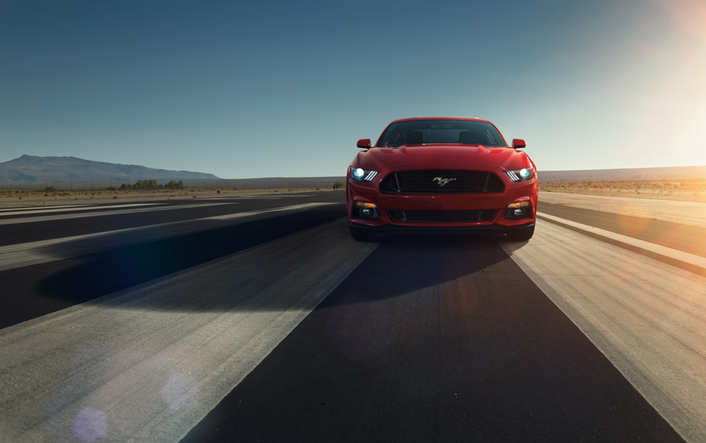 fine-tuned 2015 Mustang