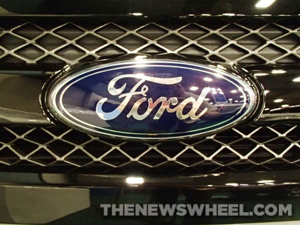 evolution of the Ford logo