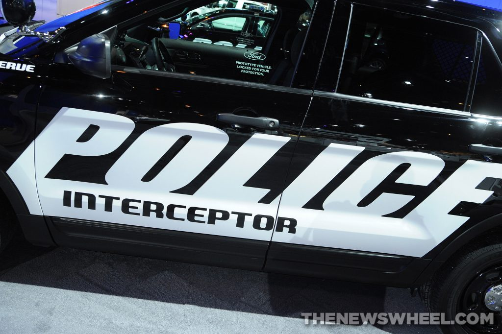 Ford Police Interceptor model