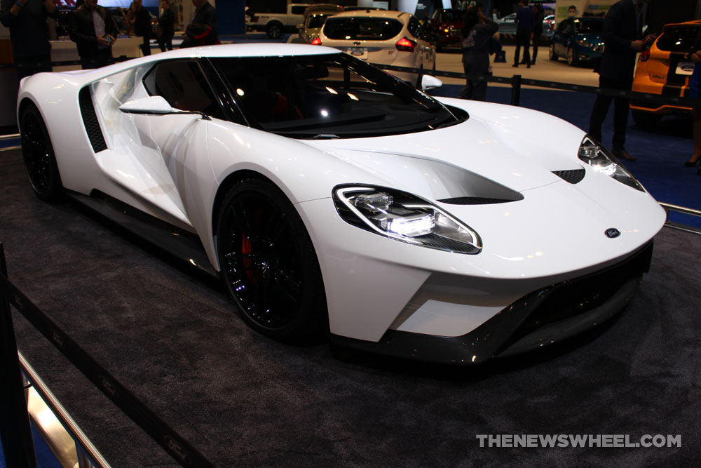Design for the Ford GT